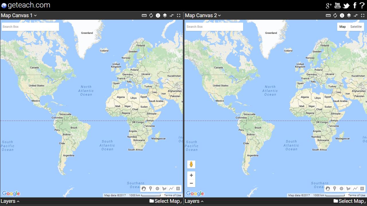 Control google maps canvas geteachblog map controls hides google maps buttons map canvas 1 off map canvas 2 on gumiabroncs Image collections